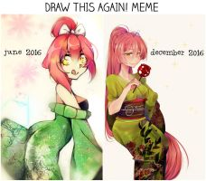 DRAW THIS AGAIN MEME! by Hitomi-chy