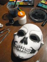 death mask by milanglo