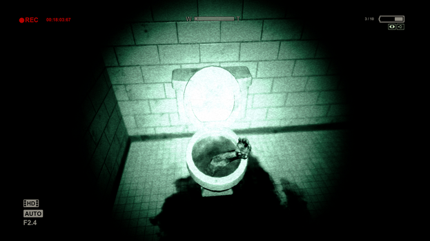 Toilet Hand by RedshiftTheFox