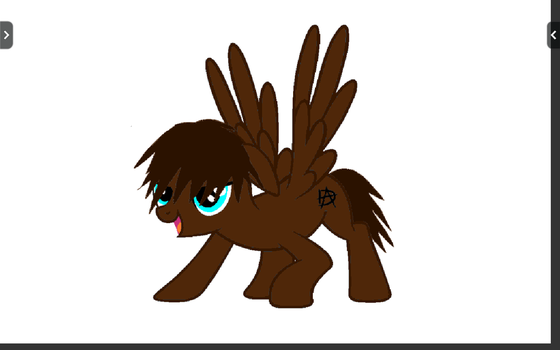 Dean Ambrose pony! by cakepop108