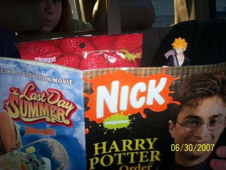 Bleach Gummies Harry Potter by DiskofeverXcore1975