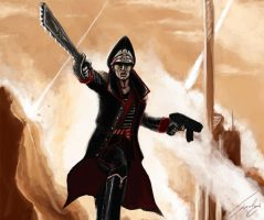 Imperial Commissar by Cyrgaan