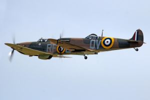 Spitfire and Hurricane by Daniel-Wales-Images