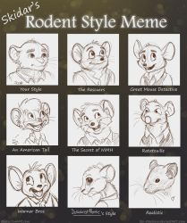My Rodent Style Meme by Ski-Machine