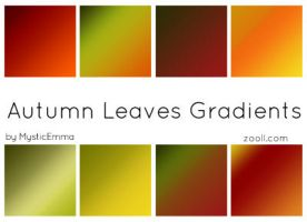 Autumn Leaves Gradients by MysticEmma