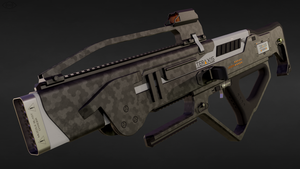 MAW-76 'Legion' Multi-Barrel Rifle by doug7070