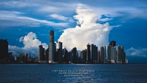 Cotton Clouds City by gab-181