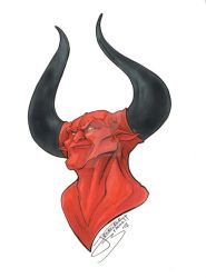 Day 02 Devil by JenBroomall