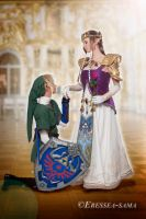 Link Cosplay -kiss on the hand by Eressea-sama