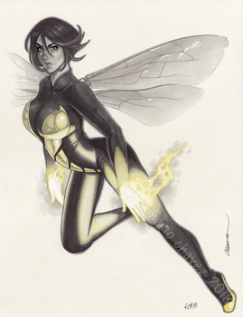 The Wasp by MarioChavez