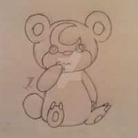 Teddiursa by Jaywalk5