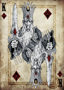 King of Diamonds by NoahW