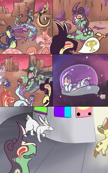 Xotiathon Audition - Page 1 by SleepytimeStudios