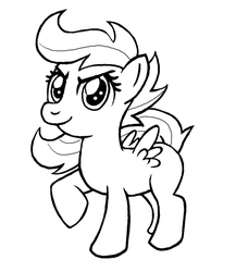 Just a drawing of Scootaloo by Jimmytrius