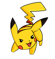 Pikachu by Bricus27