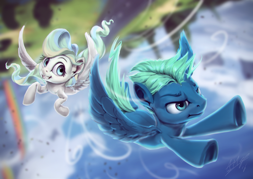 Vapor Trailing by AssasinMonkey