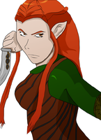 Tauriel by fighterxaos