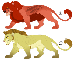 Lions DTA (Closed) [ONLY FOR WATCHERS!] by Karibu99