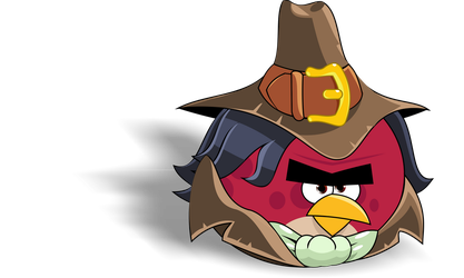 Terence The Hunter ( Angry Birds friends) by mariobros64