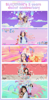 [PSD]: BLACKPINK 2 YEARS DEBUT ANNIVERSARY by Jenny3110