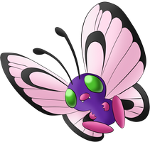 #012 Butterfree by Icedragon300