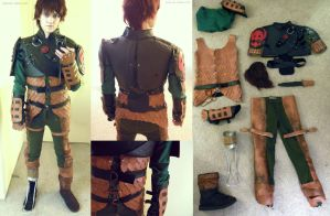 Older Hiccup Cosplay by napallama