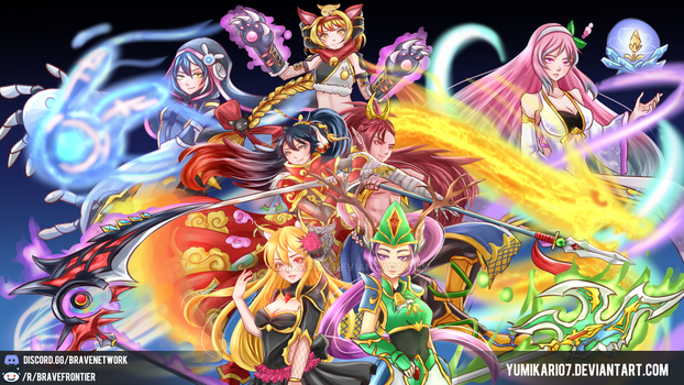 Brave Frontier - A Global Legacy by yumikari07