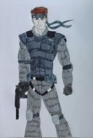 Solid Snake by JQroxks21