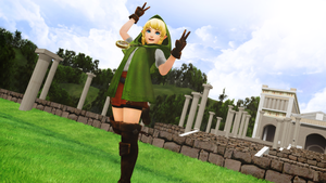 Hyrule Warriors - Linkle DL by junk-hoes
