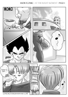 DBZ (VegBul): At the right Moment - Page 1 (NEW) by lovelykotori