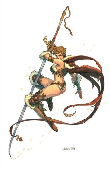 Sword dancer by Hellstern