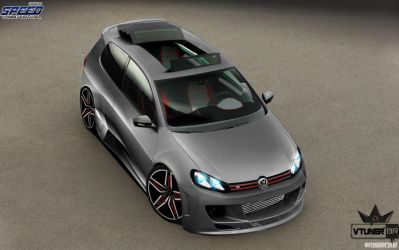 golf rs turbo by Bruno--Design-2009