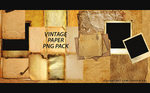 Png Pack #1 Vintage Papers by crayon-fx