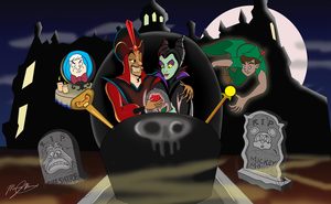 A Romantic, Enchanted Haunted Mansion by mr-suavemente