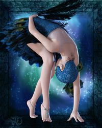 Confined Poise by RavenMoonDesigns