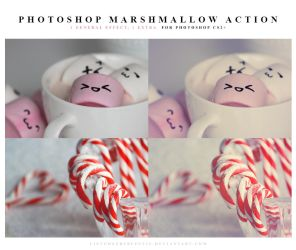 Photoshop Marshmallow Actions by meganjoy