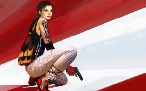 Lara Croft alias Faith by AeonlX