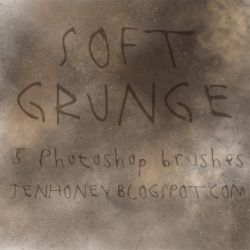 soft grunge brushes by creepydolly