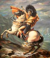 Cher Conquering by LaPointeVArt