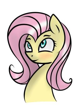 Fluttershy by I-am-Luigi