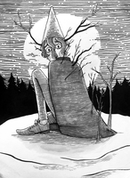 8th day of inktober by oldpinewoods