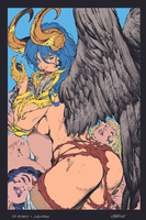 30_Angelus_by_Ed_Benes Flats by HectorRubilar