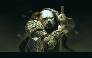 Bulldog by DaveRapoza