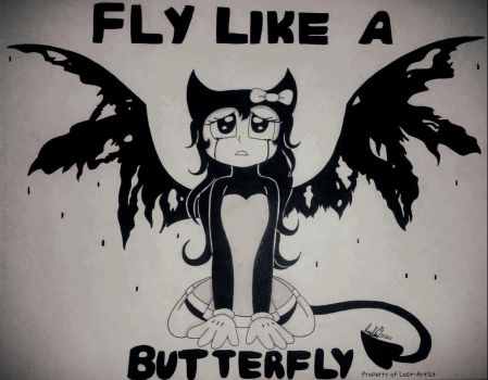 Fly Like A butterfly by The-Lost-Artist9