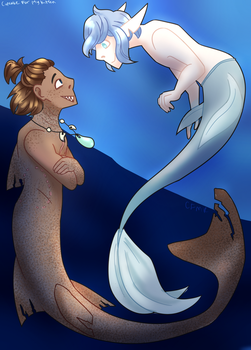 Collab- Merms by equiz923