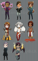 Custom Adoptables for topcreek by thelandbaby