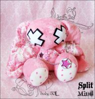 Baby Doll Bunny by splitmindplush