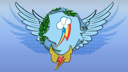 Wallpaper Rainbow Dash Coa by Barrfind