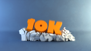 Thanks for 10K Pageviews by John-Boyer