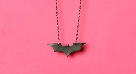 Batman Begins Necklace by designandberries